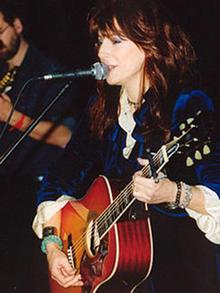 Candice Asher aus Nashville, TN Countrymusicmesse in Berlin 2004
