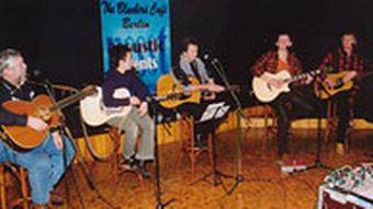 Tom Cunningham im Bluebird Cafè Countrymusicmesse in Berlin 2004