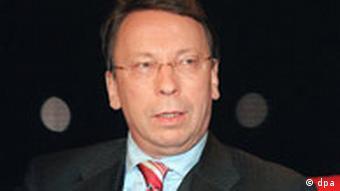 Klaus-Uwe Benneter, SPD-Politiker, aufgenommen im März 2003 in Mainz