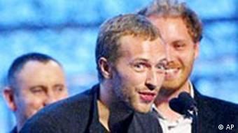 Coldplay, Chris Martin, Grammy Award