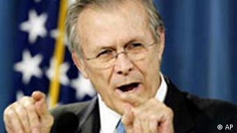 Ex-Verteidigungsminister Rumsfeld (Foto: AP)
