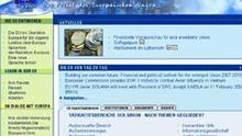 Internetportal der Europäischen Union, Screenshot