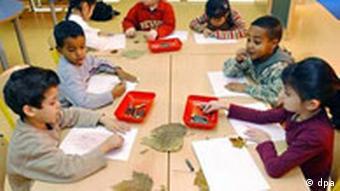 Deutsch-Vorlaufkurs für ausländische Kinder