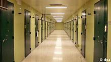 Blick am 18.10.2002 in die Wiener Justizvollzugsanstalt Josefstadt. Es handelt sich um das größte Gefängnis Österreichs mit zeitweise 1100 Häftlingen