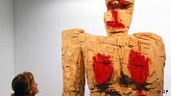 Georg Baselitz Kunst Ausstellung in der Schweiz