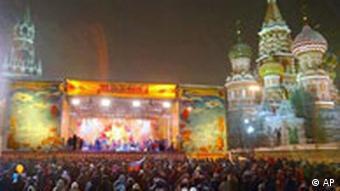 Pfannkuchenwoche in Moskau