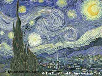 'A Starry Night' by Vincent Van Gogh