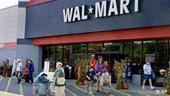 Wal Mart Walmart Shop in den USA Supermarkt