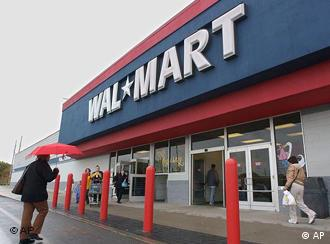 Walmart Wal Mart Shop in den USA Supermarkt Lebensmittelkette