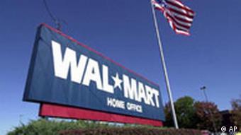 Hauptquartier der Lebensmittelkette Wal-Mart in Bentonville, Arkansas,