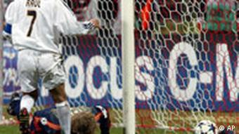 Oliver Kahn Champions League FC Bayern München - Real Madrid 1:1