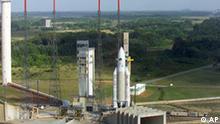 ESA Ariane V Rakete mit Rosetta an Bord