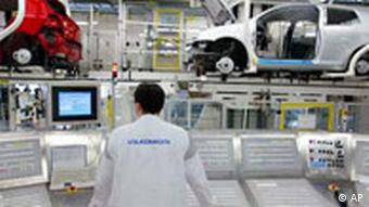 Produktion von VW Golf in Wolfsburg