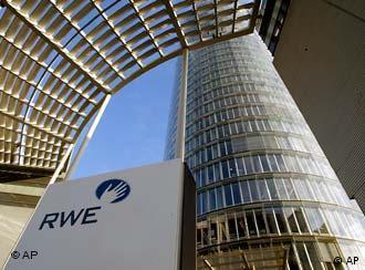 مقر اصلی شركت RWE در شهر اسن آلمان