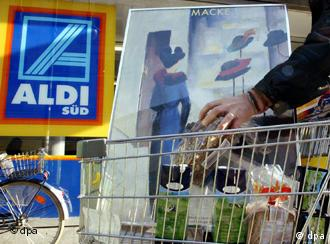 Aldi, una de las cadenas alemanas de supermercados líderes en bajos precios.