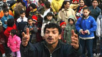 Sinti und Roma demonstrieren in der Slowakei