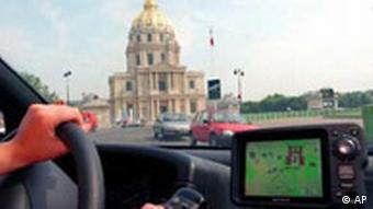 GPS Navigation in Paris
