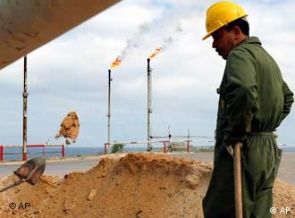 Erdölförderung in Libyen