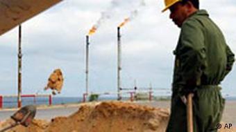 Alltag in Libyen Ölindustrie