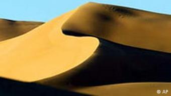 Alltag in Libyen libysche Wüste