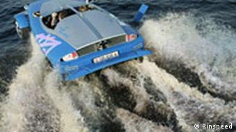 Rinspeed Splash, Autosalon Genf 2004