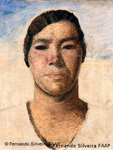 Ausstellung Brasilianischer Modernismus Candido Portinari The half-breed 1934