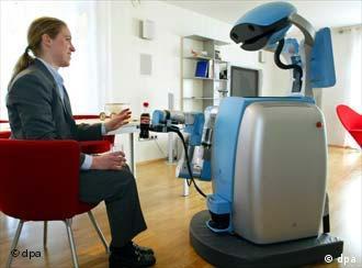 Care-O-bot II, robot pembantu bagi penyandang cacat