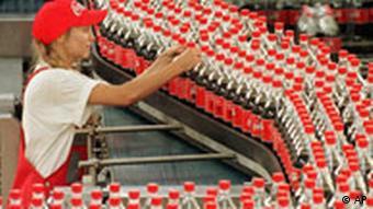 Coca Cola Abfüllanlage in Genshagen Wirtschaft amerikanische Unternehmen in Deutschland