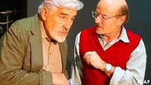 Volker Schlöndorff und Mario Adorf