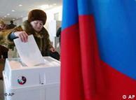 Rusia se prepara para elegir.