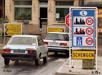 Entrada de Schengen em 22 março de 1995