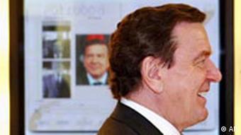 Galerie Cebit 2004 Gerhard Schröder virtuell