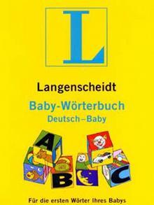 Coverbild Langenschiedt Baby Wörterbuch