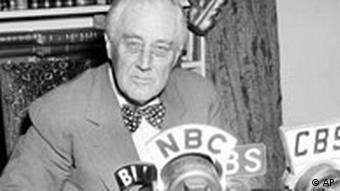 Franklin Roosevelt Kalenderblatt