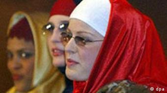 Walk of Islam - Modenschau für islamische Frauen, Kopftuch