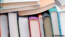 Bücher in einem Antiquariat
