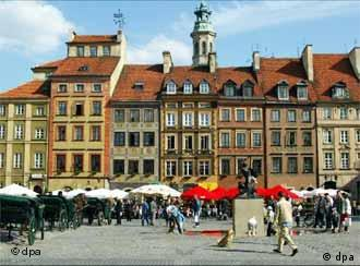 Warsaw's marketplace