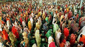 Christliche Messe in Indien