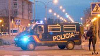 Bombenexplosion Anti-Terror-Operation Spanien Polizei Leganes Madrid