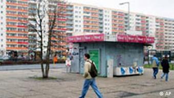 Communist housing blocks