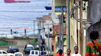 Äquatorial Guinea Sraße in Malabo