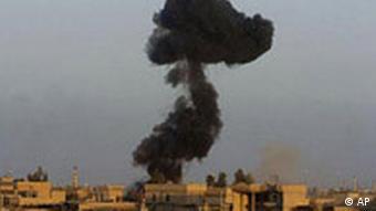Irak: Bombardierung von Falludscha mit Galeriebild