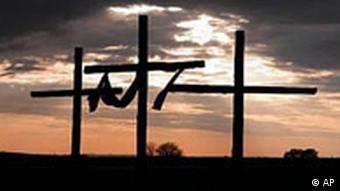 Drei Kreuze vor Ostern