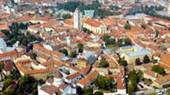 A general view of the old town of Vilnius, Lithuania