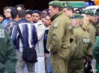German police raided a mosque in Bochum last year
