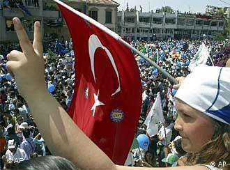Türkische Zyprer befürworten die Wiedervereinigung