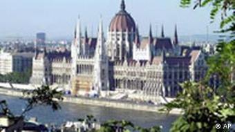 EU Erweiterung Ungarn Parlament in Budapest