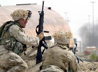 Marines beim Einsatz in Falludscha (2004)