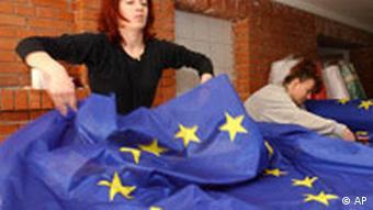 Den Tisch gedeckt für die EU