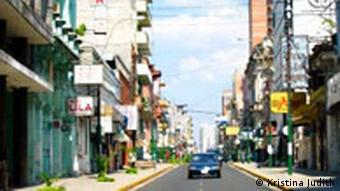 Centro de Asunción, capital de Paraguay.